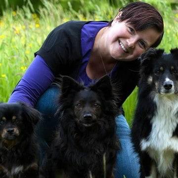 Hundetrainerin Susanne Bretschneider