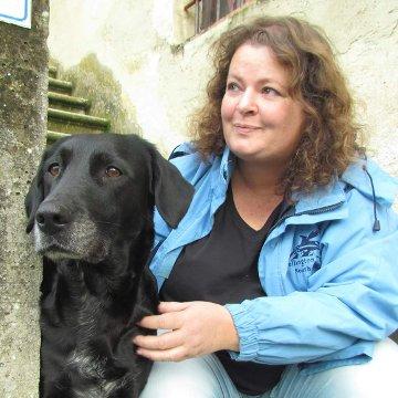 Hundetrainerin Anne Bigi