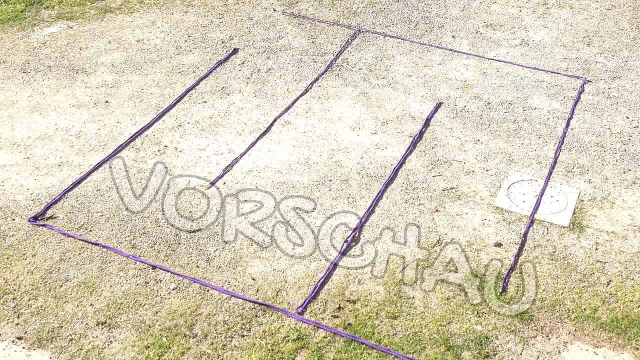 TTouch: Bodenarbeit - Labyrinth - Hey-Fiffi.com