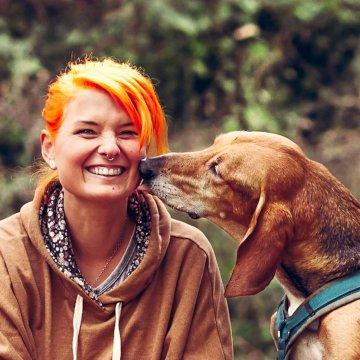 Hundetrainerin Tina Schwarz