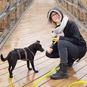 Hundetrainerin Lina Rischer