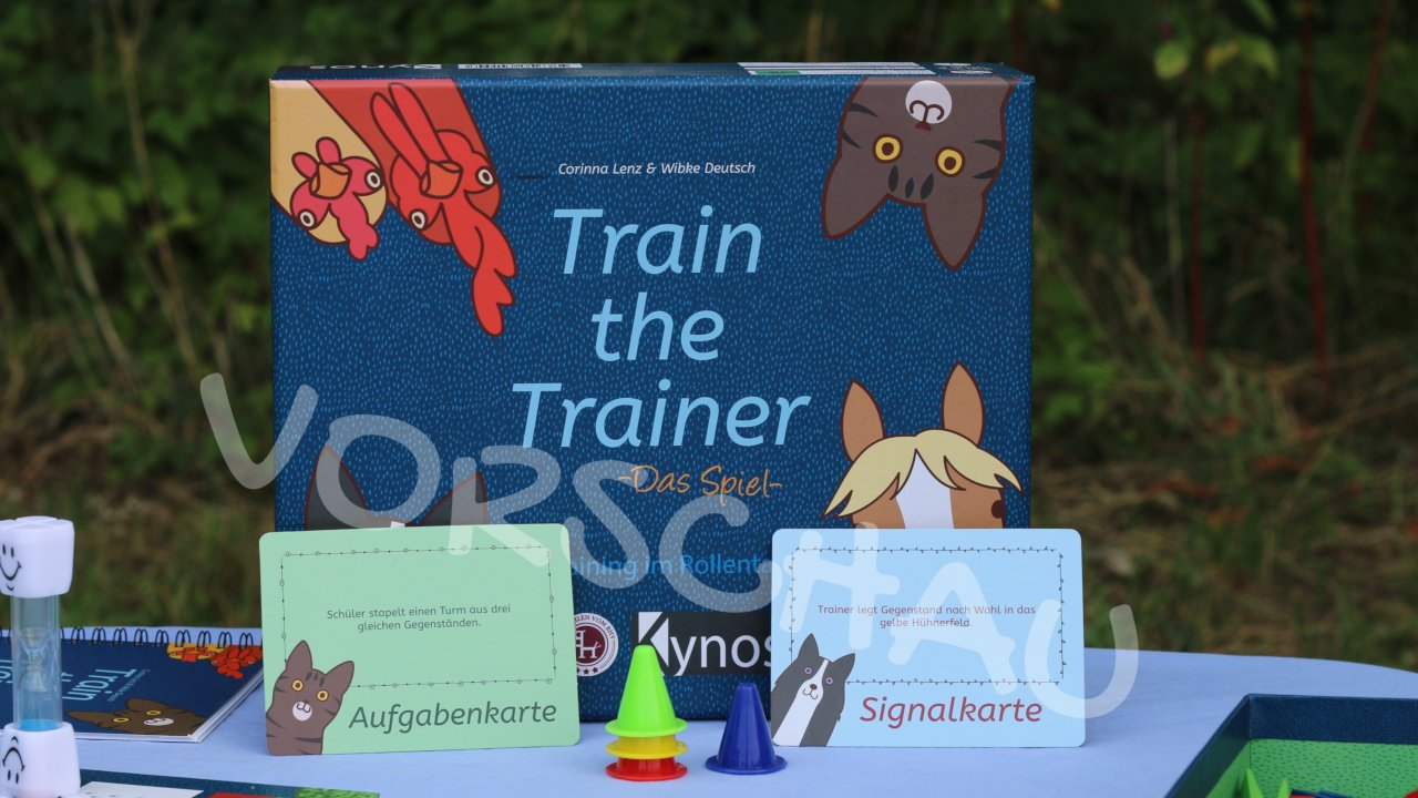 Train the Trainer: Hütchen stapeln - Hey-Fiffi.com