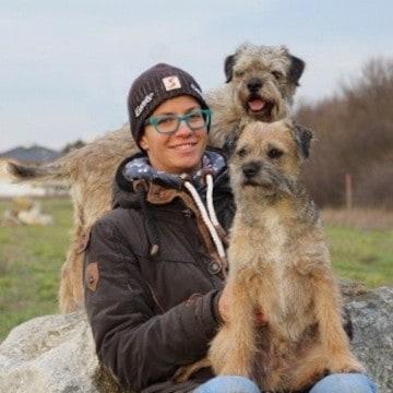 Hundetrainerin Florin Hirnschall